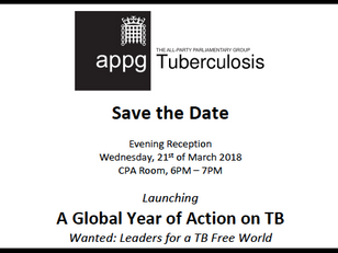 APPG to host World TB Day Reception