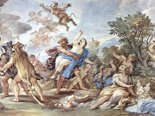 O Rapto de Proserpina / Rapto de Perséfone