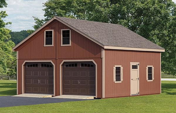 Amish Garages Built On Site : Amish structures garages sheds queenstown md
