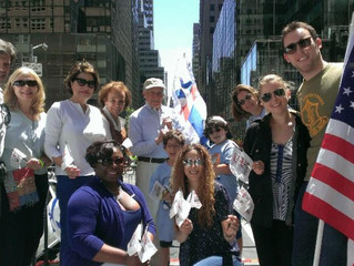 Join the America-Israel Friendship League at Celebrate Israel Parade