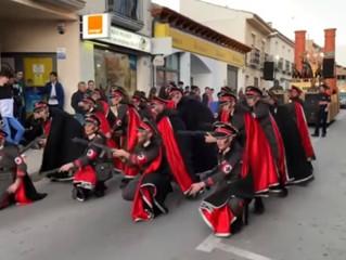 Israeli Embassy Rips 'Vile' Spanish Parade Show for 'Banalizing' Holocaust