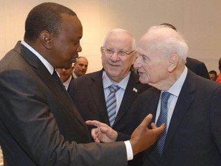 Kenyatta: Israel is a Young Country, Full of Great Promise in the Years Ahead
