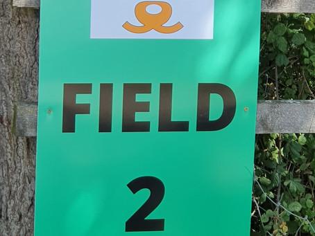 NOW OPEN - BINFIELD ENCLOSED FIELD NO. 2