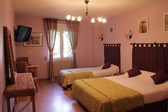 Chambre triple hôtel les norias