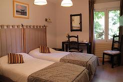 Chambre twin hôtel les norias