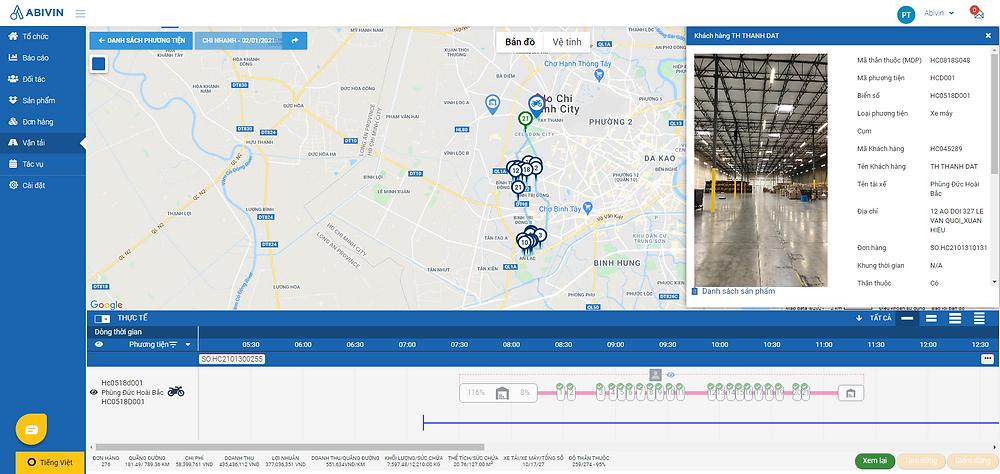 Thông tin ePOD được cập nhật về hệ thống