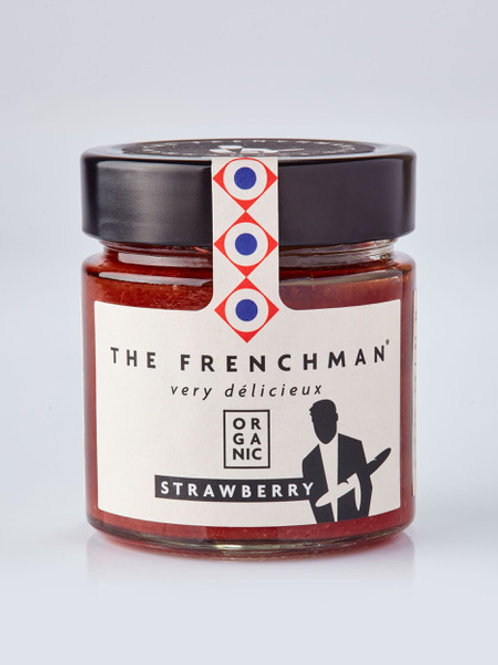 Organic Strawberry Fruit Spread by the Frenchman