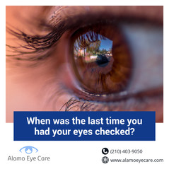 when was the last time you had eyes chec