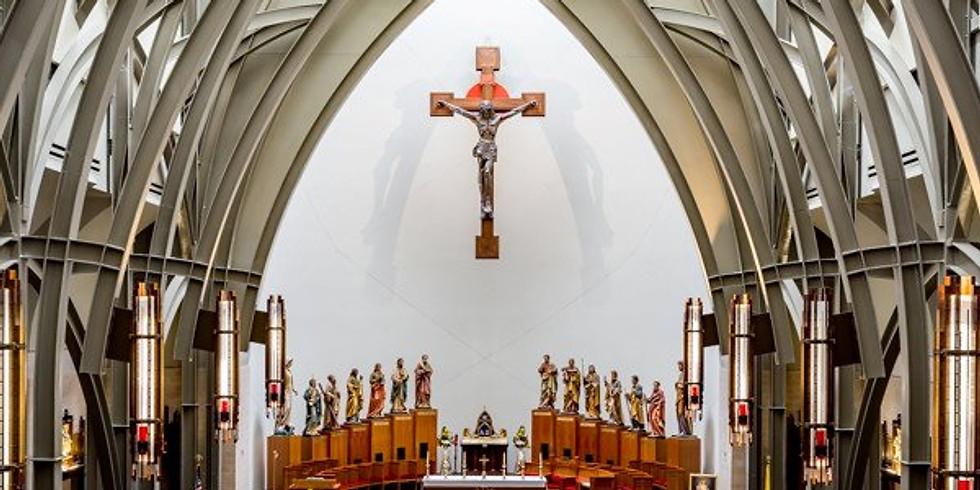 Sunday Mass: 5 pm Mass Saturday December 19, 2020