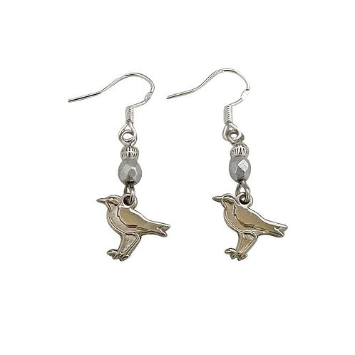 St Helena Wirebird Earrings