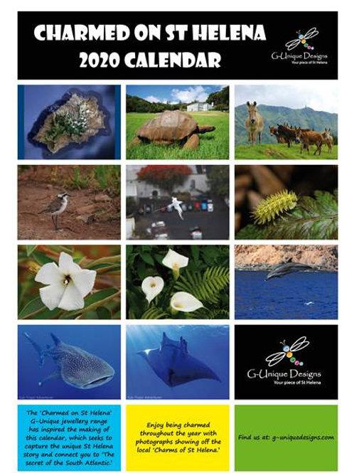 2020 St Helena Island Calendar - G-Unique