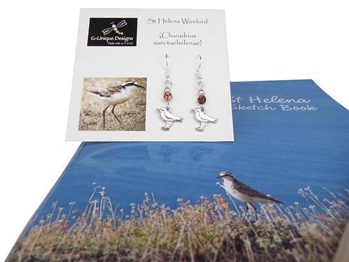 St Helena Wirebird gift set
