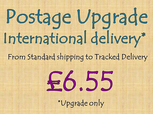 Int Postage Upgrade-Recorded Delivery