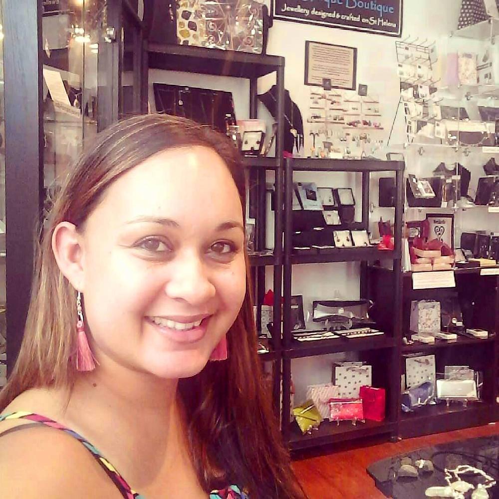 Giselle at the G-Unique Boutique