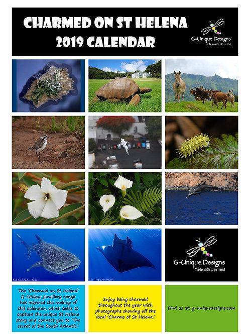 2020 PRINTABLE St Helena Island PHOTO Calendar