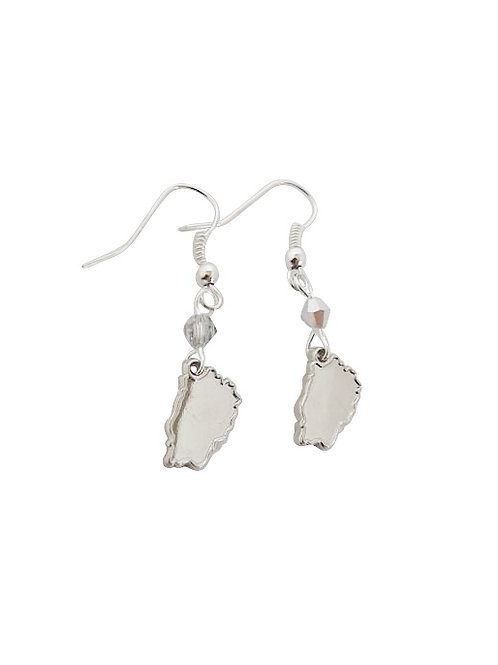 St Helena Island Earrings - Silver