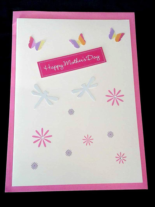 Large Mother's Day Gift Card with personal message