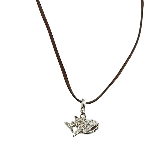 Whale Shark necklace (Black)