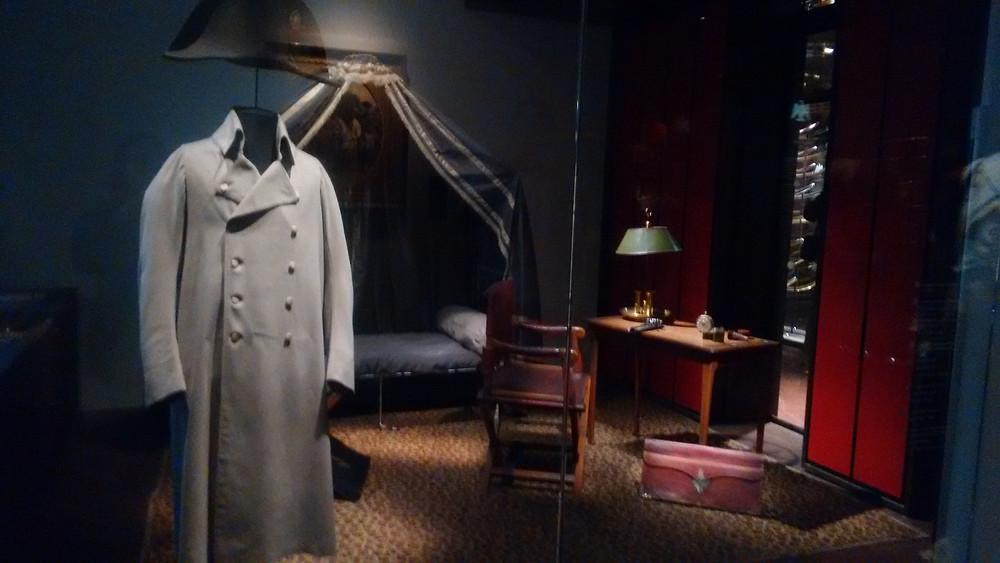 Exhibition of Napoleons belongings at the Musée de l'Armée