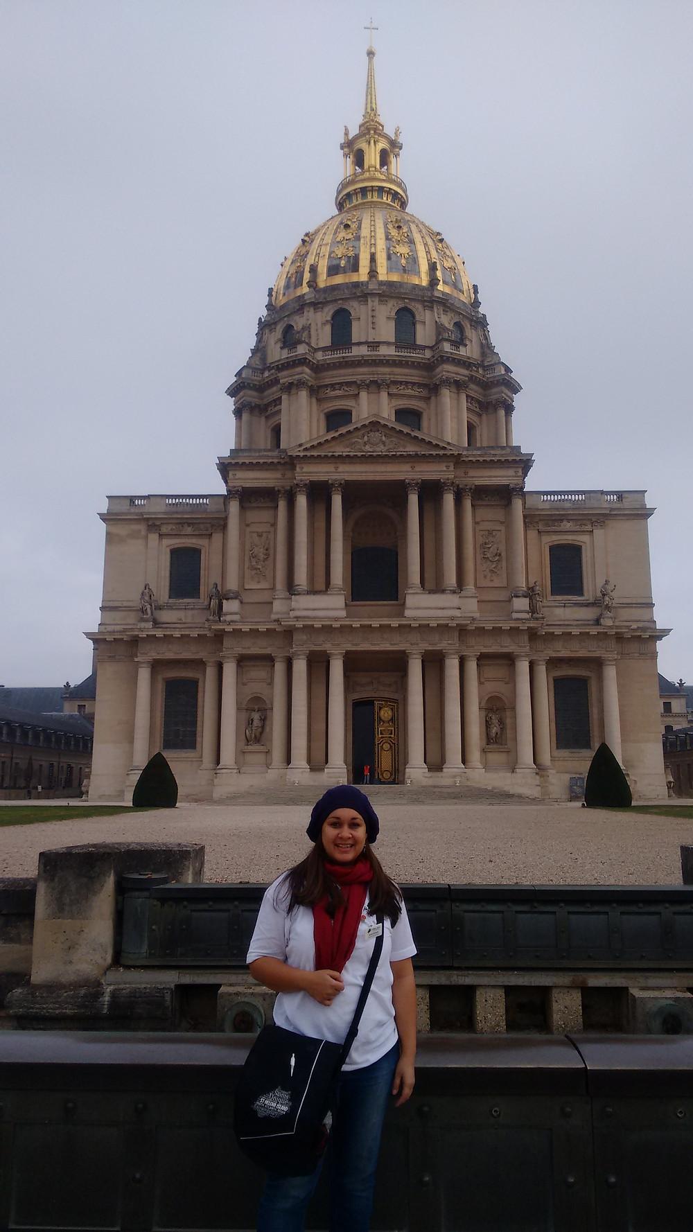 Outside the Musée de l'Armée 2017