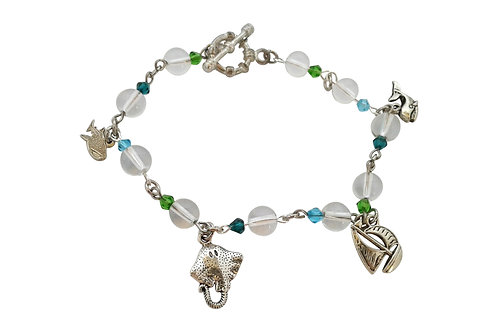 Charmed on St Helena Bracelet -Sea Themed