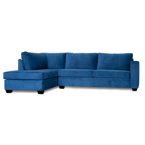 Navy Blue Essex Sectional