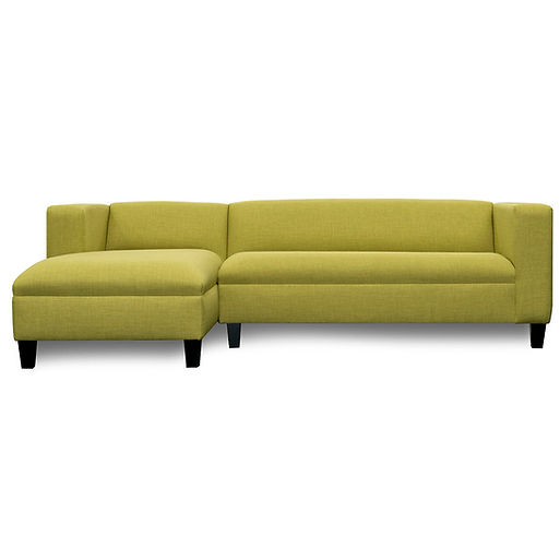 Sectional-Canal_Textured_Lime_Green-Sofa