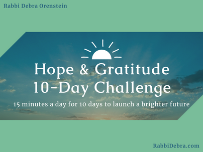 Introduction to the Hope & Gratitude 10-Day Challenge