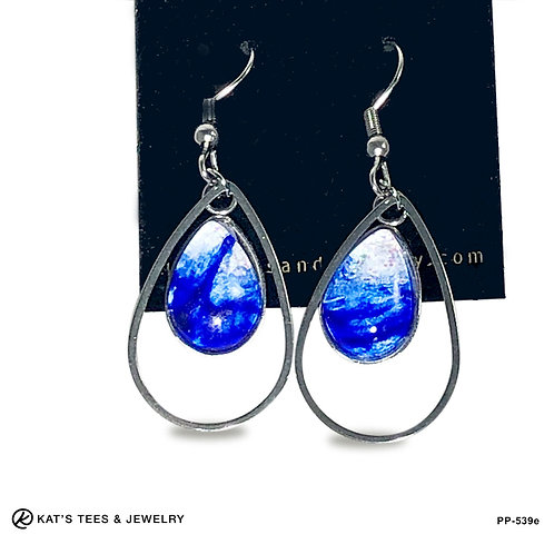 Small Stainless steel drop earrings