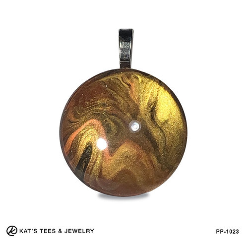 Medium tiger eye pendant
