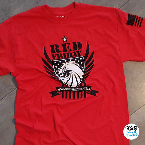 R.E.D. Friday shirt - Support our Deployed Military