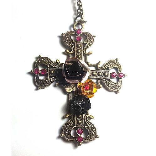 Steampunk gothic cross