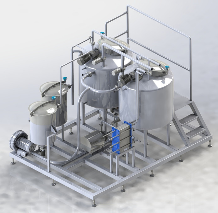 Dosing & Mixing Unit for Cheese applications