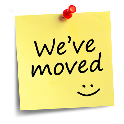 Announcement – we have moved