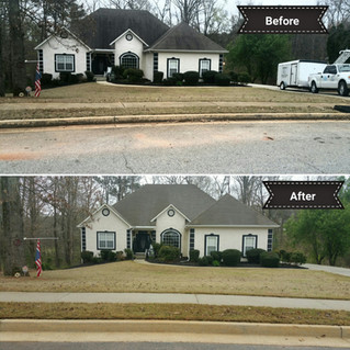 Roof Soft Washing In McDonough GA With The ReFresh Pressure Washing Pro's