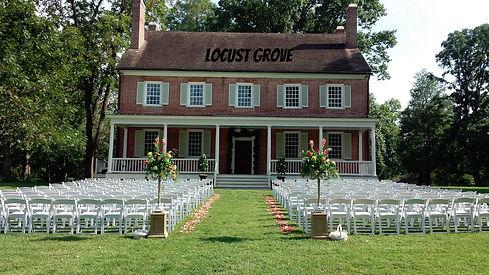 Wedding at Locust Grove
