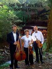 String Trio Wedding at Lost River Cave