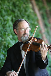 First Violinist Ray Weaver Wedding Planner