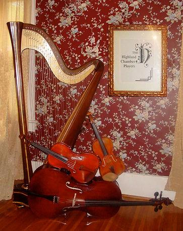 Violin Viola Cello Harp String Quartet