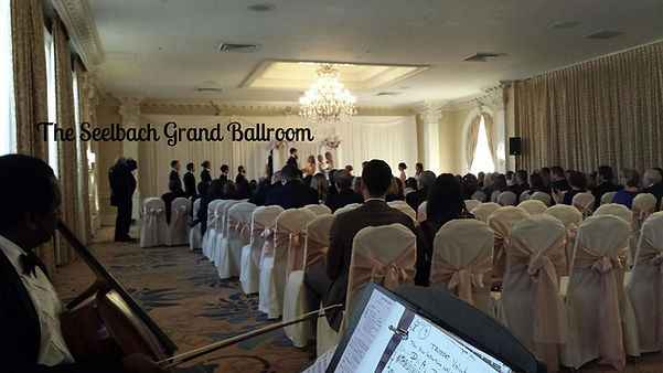 Wedding at the Seelbach