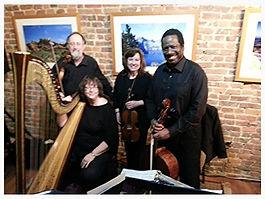 String Quartet and Harp in Elizabethtown
