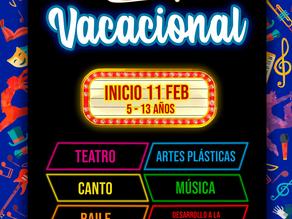 VACACIONAL SHAPÓ Y CONCIERTO VIERNES 8 FEBRERO