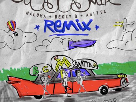 """Maluma lanza el REMIX de """"Mala Mia"""" con Anitta y Becky G"""