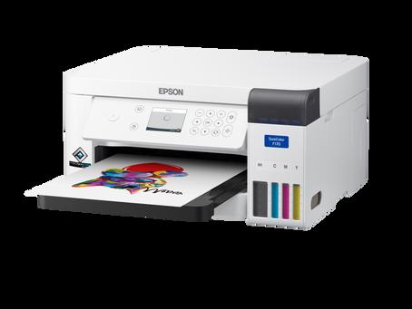 Epson presenta su nueva impresora de sublimación de tinta de 8,5 pulgadas para el escritorio