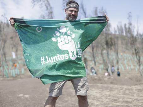 Roberto Manrique recorre países con un propósito, Güitig forma parte del proyecto ambiental.