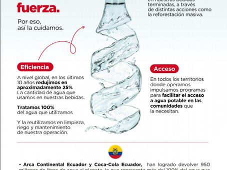 ¿Qué hace Arca Continental para la protección del agua?