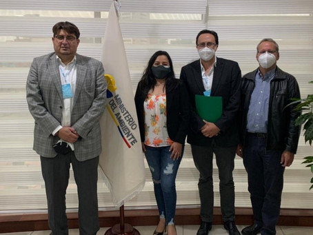 Ministerio de Ambiente y Schlumberger alienan estrategias para unaextracción hidrocarburífera