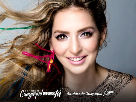 A Guayaquil la festejaremos con salsa y con Mirella Cesa.
