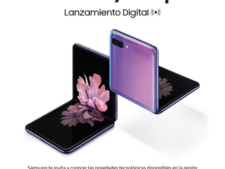 SAMSUNG - INVITACIÓN VIRTUAL- LANZAMIENTO DIGITAL DEL GALAXY Z FLIP