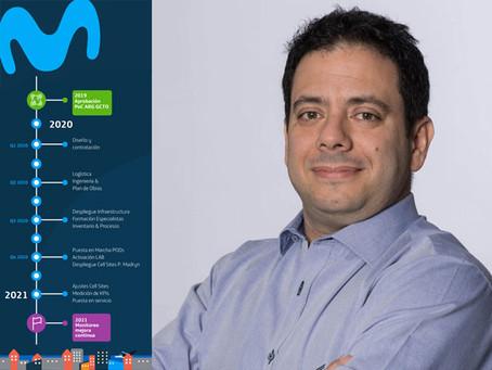 Movistar enciende la primera red de Sudamérica basada en tecnología Open RAN